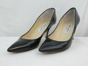 Women's Jimmy Choo high heeled shoes black size UK 6 EU 39 072SIVY boxed