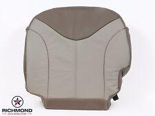 2001 GMC Sierra C3 Denali 4X4 AWD 4WD -Driver Side Bottom Leather Seat Cover Tan