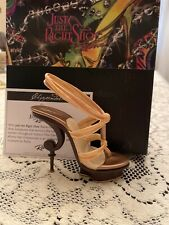 Rare Just The Right Shoe by Raine Shoe Miniatures- Chippendale Nib