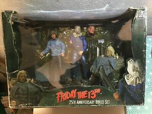 Friday The 13th - 25th ANNIVERSARY Edition BOXED SET action figure neca MINT NEW