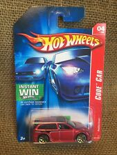 Hot Wheels 2007 Code Car Red Audacious Instant Win Card