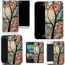 motif case cover for many Mobile phones - floral tree