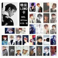 30pics set KPOP Baekhyun LOMO Card EXO For Life Baekhyun Lomo Cards NEW