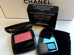 CHANEL LES TISSAGES DE CHANEL BLUSH DUO TWEED EFFECT 90 Tweed Pink Paradise