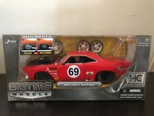 Jada Toys BIGTIME MUSCLE HOBBY EXCLUSIVE RED 1969 PLYMOUTH ROAD RUNNER 1:24 SCAL