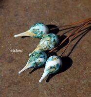 Cyprus - Handmade Glass Lampwork Headpins SRA MTO - Choose Shape or Finish