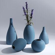 Ceramic Flower Vase Home Decor Style Art Room Furnishing Dry Ash Decorations