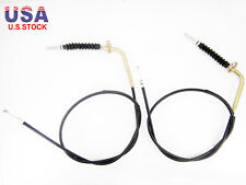 Pair of Front Brake Cables fits for Suzuki LT 80 Quad Sport 1987-2006