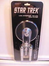 Star Trek Enterprise NCC-1701 Metal Pizza Cutter Star Trek Fan Fare New Package
