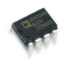 AD620 AD620AN DIP-8 Instrumentation Amplifier IC New