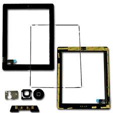 RICAMBIO Touch Screen Digitizer TELAIO CORNICE TASTO HOME FLEX PER IPAD 2 NERO