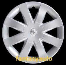 "Renault Clio-Modus Set 4 Coppe Ruota Copricerchi 15"" Logo Cromato 5751/5LC"