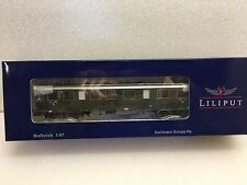 Liliput L334571 H0 Fast Train Coach 2nd3rd Class DB Epoch III New Boxed T48 Post