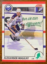 1990-91 Score Canadian - #43 Alexander Mogilny RC - Buffalo Sabres