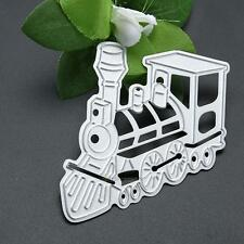 Train Metal Cutting Dies Stencil Scrapbook Paper Cards Embossing DIY Die-Cut NEW