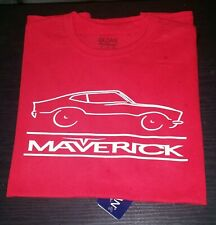Ford Maverick Car T-Shirt with Sleeve Decals