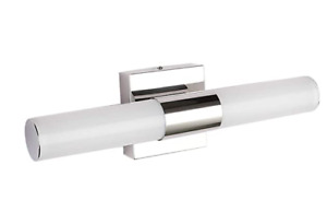 LED Vanity Light Modern Stainless Steel Bathroom Light Fixture Over Mirror