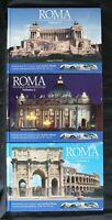 ROMA. Foto d'epoca e panoramiche di oggi. 3 volumi. AA.VV. Entropia.