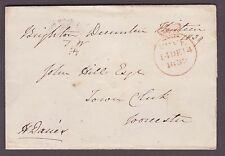 1839  Brighton Free Frank during the Fourpence Expermental Rate
