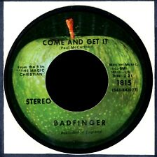BADFINGER COME AND GET IT / ROCK OF AGES 1970 NM POWER POP ROCK
