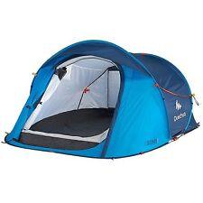 QUECHUA Tenda campeggio Tenda 2 Seconds Easy 2 posti Blu NUOVO