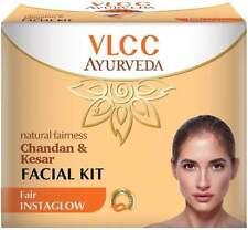 2x VLCC Natural Fairness Chandan & Kesar Facial Kit (50 g) Fair Instaglow