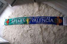Werder Bremen Schal Champions League gegen Valencia...