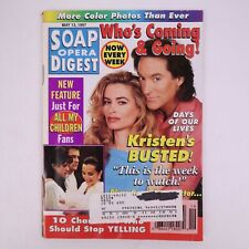 Soap Opera Digest May 13,1997 Who's Coming & Going, Kristen Busted
