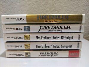 Replacement Case for Nintendo DS 3DS Fire Emblem Titles