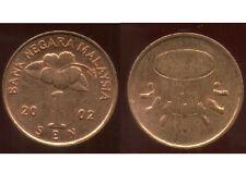 MALAISIE 1 sen  2002