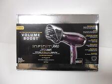 *Conair 276WR Infiniti Pro Volume Boost 1875W Hair Dryer Styler Purple hot