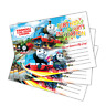 20 x THOMAS THE TANK ENGINE Kids Birthday Party Invitations Cards Girls Boys