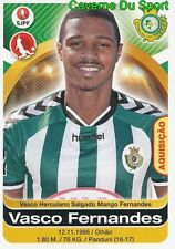 358 VASCO FERNANDES PORTUGAL VITORIA SETUBAL STICKER FUTEBOL 2017 PANINI
