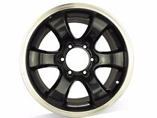 4X 4WD WHEELS MACHINE BLACK,suit Hiace Van, Hilux, Ranger, Rodeo etc