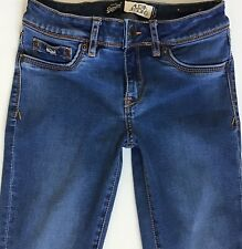 Ladies Superdry Alexia Blue Skinny Jeggings Jeans W24 L30  (399)