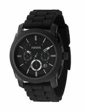 Analoge Armbanduhren mit Edelstahl in Schwarz