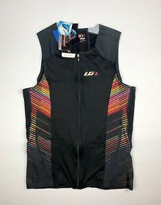 Louis Garneau Pro Carbon Comfort Sleeveless Cycling Jersey Size Men's Medium New