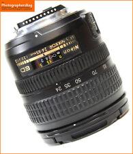 Nikon 24-85mm f3.5-4.5 AF-S G ED MAnual Focus  Lens + Free UK Postage
