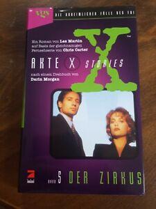 Akte X Stories Band 5: Der Zirkus – Les Martin  Science-Fiction mit Inhaltsangab
