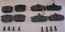 Set of front and rear brake pads for Lancia Gamma - Pasticche freno Lancia Gamma