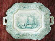 Altes Davenport  Keramik Tablett, Modell Italian Verandah