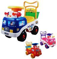 Rutschauto Rutscher Kinderauto Feuerwehr Polizei Kinderfahrzeug Lauflernhilfe