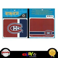 """(HCW) Montreal Canadiens Stikitz 2 Pack Decal Sticker NHL Licensed 4""""x3.5"""""""