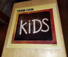 Vintage Vinyl Record Album Frank Cook Kids Ear-1007 Toy Robots Paper People Kids