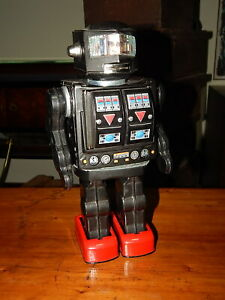 VINTAGE ROBOT ANNI '60 SUPER ASTRONAUT ROTATE-O-MATIC HORIKAWA