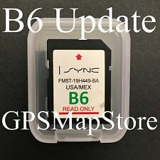 Ford Lincoln Navigation SD card Map US Mexico Map *See Chart for Compatible Cars