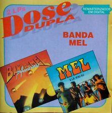 BANDA MEL DOSE DUPLA RARE 19-TRACK CD 2 ALBUMS: E LA VOU EL + PREFIXO DE VERAO