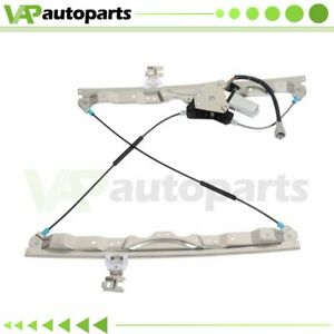 Power Window Regulator Front Right Passenger Side//fits for 2004-2010 For Infiniti QX56 2005-2015 For N-issan Armada 2004 For N-issan Pathfinder Armada 2004-2015 For N-issan Titan 807309FJ0A 742-528