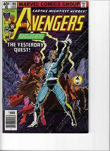 MARVEL Avengers #185 COMIC