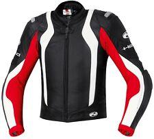 Giacca Combinazione Held Street II colore: Nero/Rosso Misura: 48 in pelle CORSA